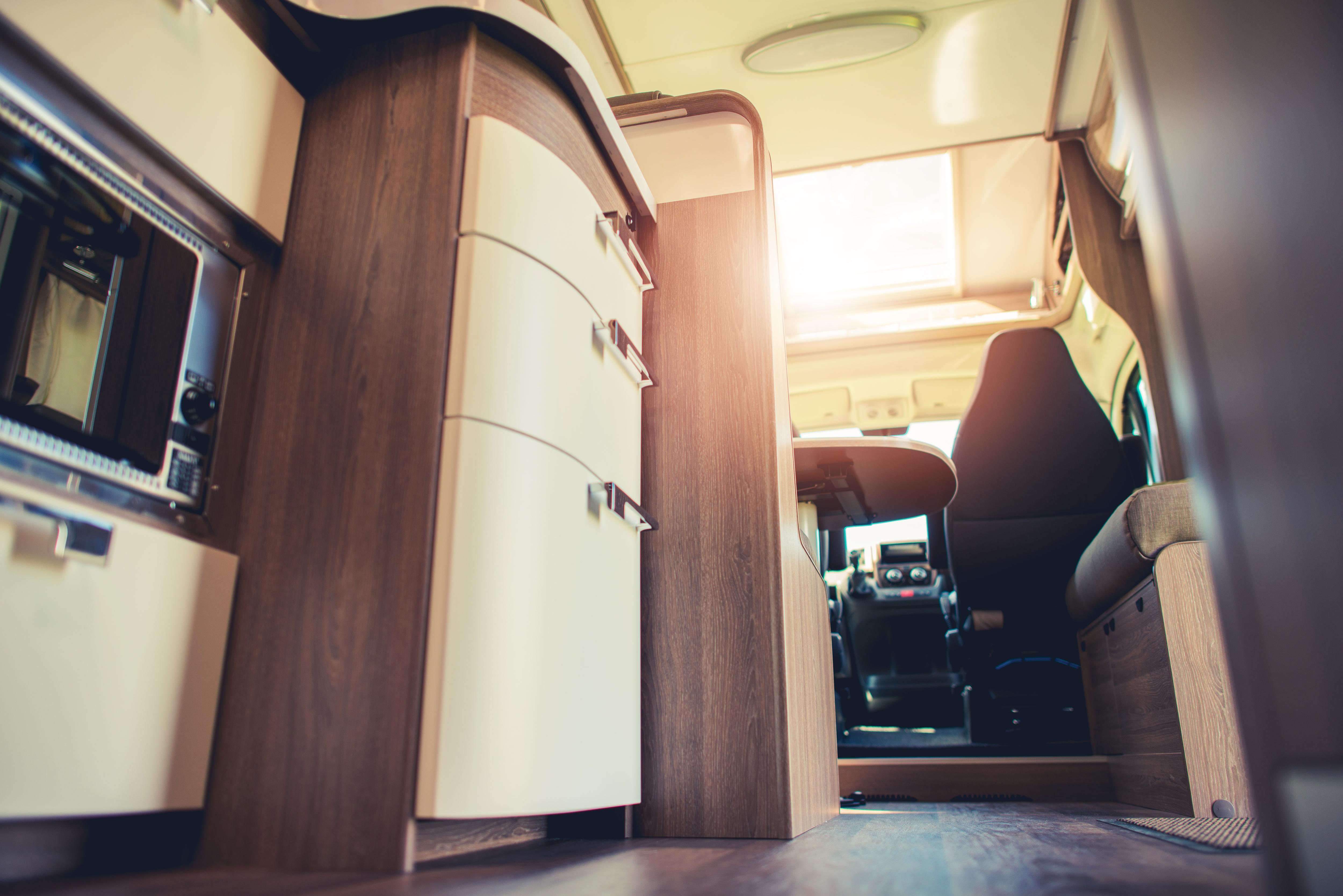 Interiores de autocaravana