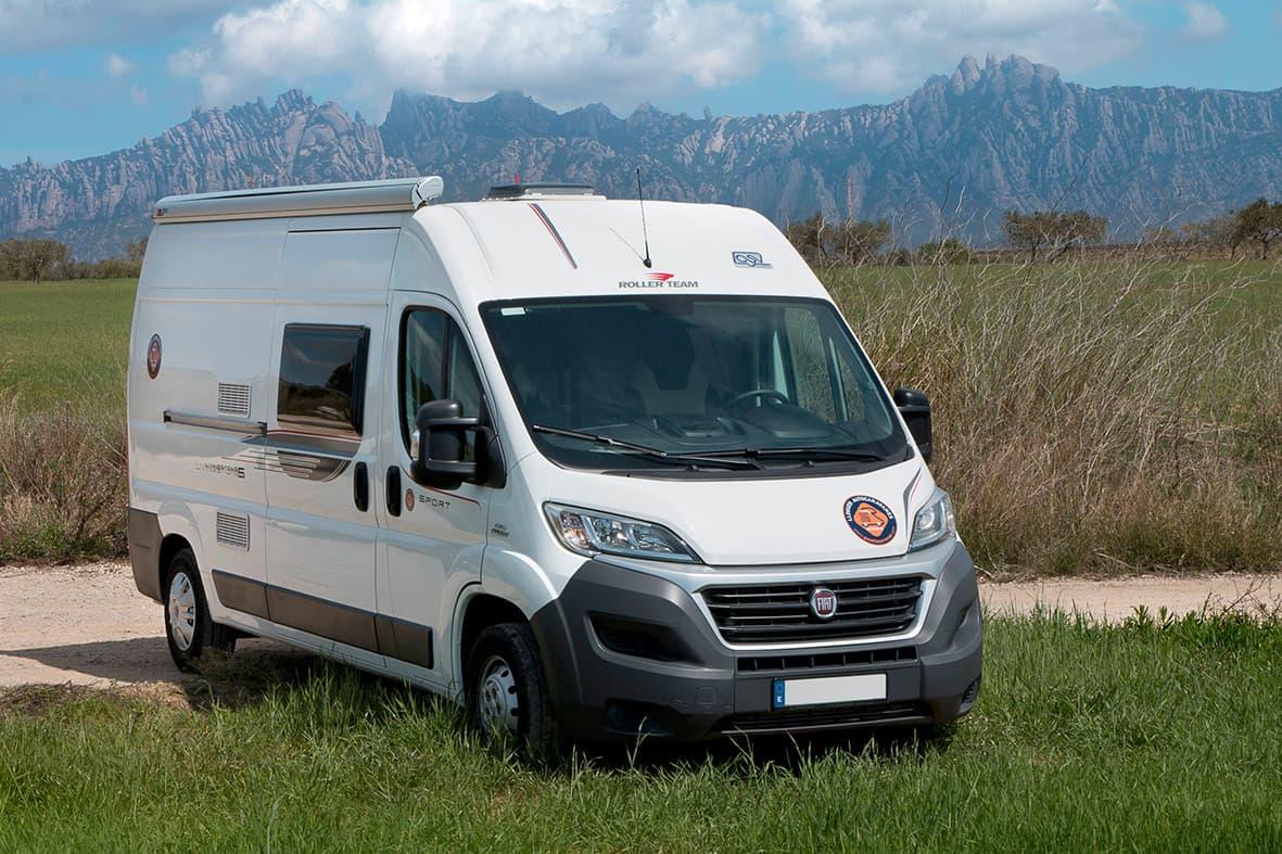 lloguer de furgonetes Camper