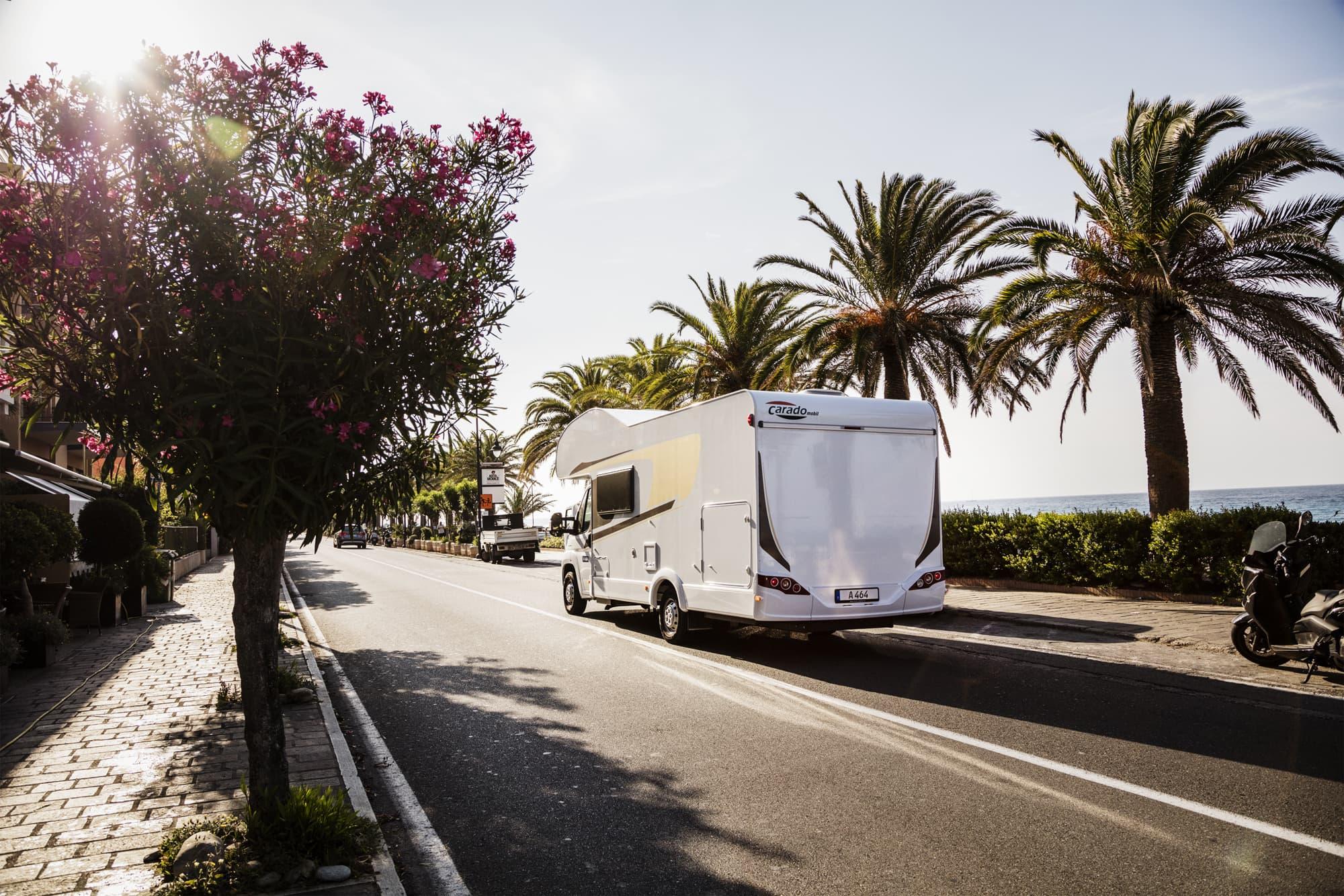 Alquiler de autocaravanas carretera