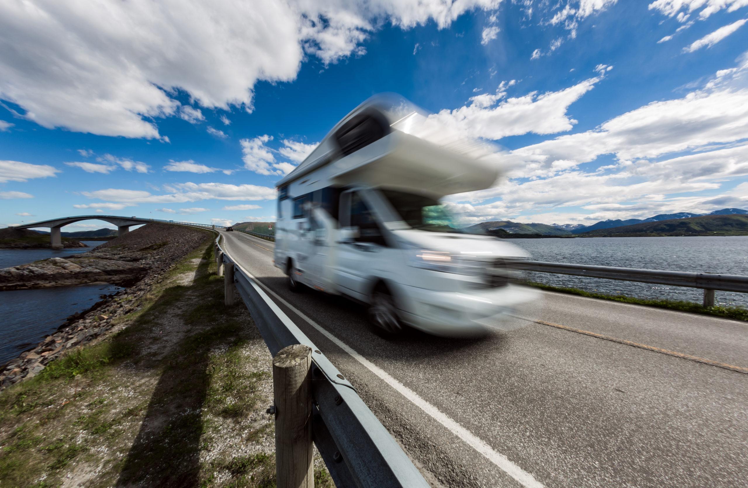 Alquiler de autocaravanas ruta carretera