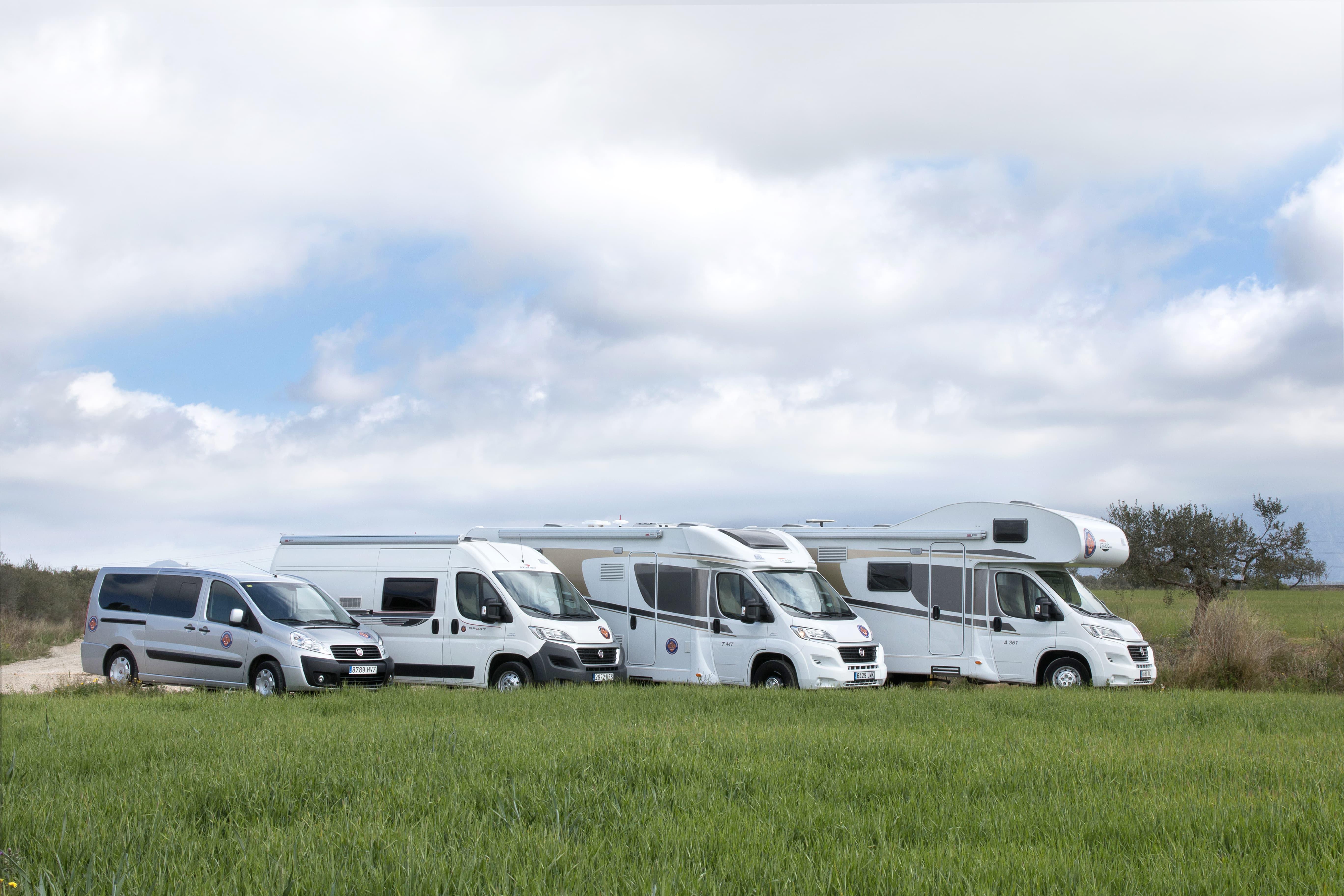 aparcamiento para autocaravanas
