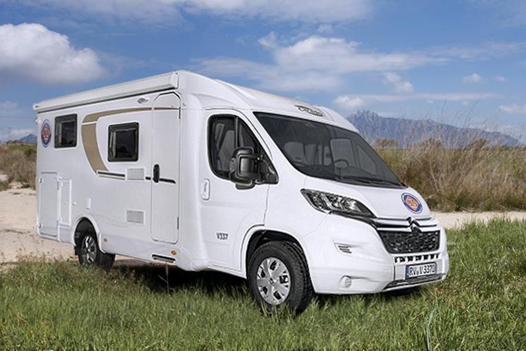 Camper autocaravana Carado V337