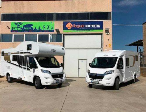 Lloguer d'autocaravanes Sabadell: Quins models et podem oferir?