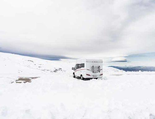 Viajar en autocaravana por España en invierno